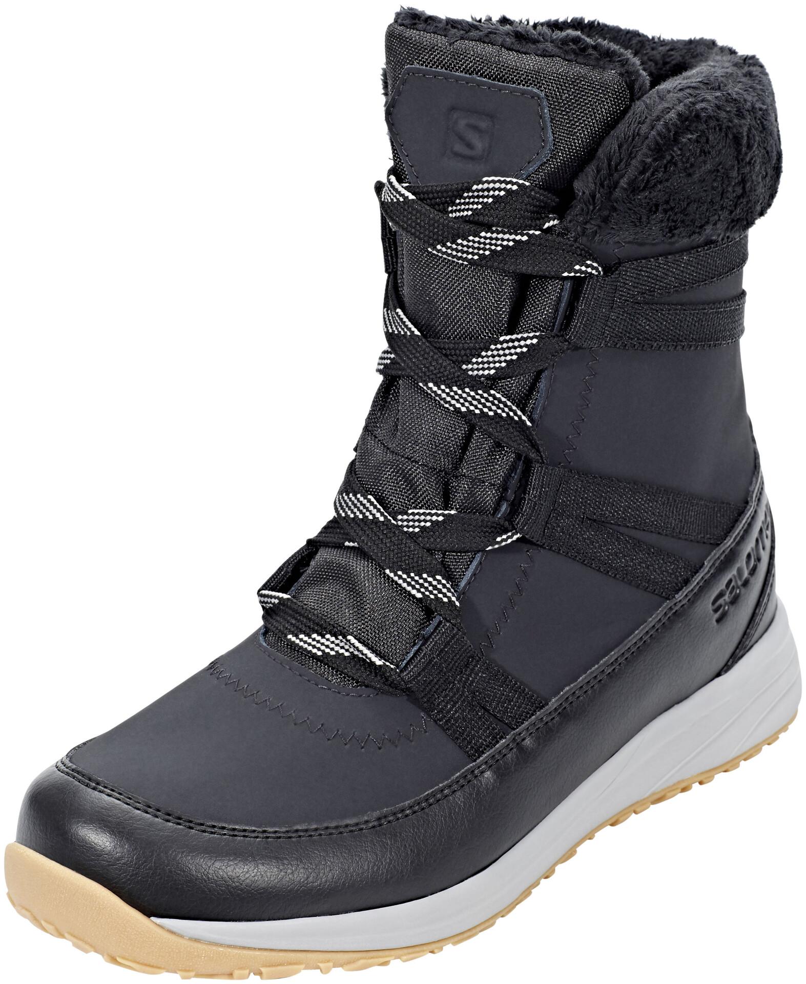Salomon Heika LTR CS WP Winter Boots Women PhantomBlackAlloy